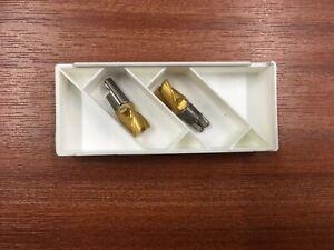Seco Minimaster 10mm MM10-10012-R05A30-M03 F40m 2 Inserts Tip Tips Bnib Cutter