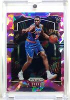 2019-20 Panini Prizm RJ Barrett Pink Cracked Ice Rookie RC #250, New York Knicks