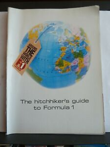 THE HITCHHIKER'S GUIDE TO FORMULA 1 - F1 MAGAZINE SUPPLEMENT 2003
