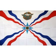 Assyrian Country Flag Banner Sign 3' x 5' Foot Polyester Grommets