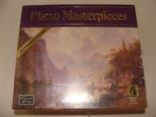 Piano Masterpieces CD 4 Discs Mozart Chopin Gershwin Ravel Beethoven Tchaikovsky