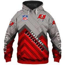 Tampa Bay Buccaneers Fans Hoodie Football Pullover Sweatshirt Hooded Jacket Gift