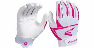 Easton Women's Prowess VRS Batting Gloves Pink Maroon Navy Gray White Softball