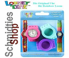 Rainbow Loom® Uhr Loomey Time™,Türkis-Pink-Lila