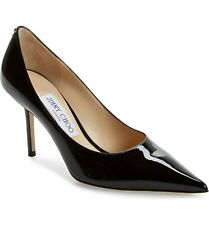 Jimmy Choo Love Pointed Toe Pump Shoes Black Size 42 MSRP: $595.00