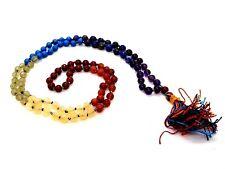 7 Seven Chakra Perles Mala Japa Prière Reiki Thérapeutique 108 Pierre Gemme