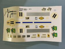 1/43 DECAL MPA HOSTARO FERRARI 512BB #11 LE MANS 1970  NART