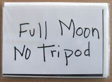 Barbara Ess: FULL MOON NO TRIPOD (Signed & Numbered), artist's book 2010