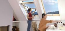 Velux bzw. Roto Dachfenster Hoch-Schwingfenster Holz im Maß: 74 x 160 cm