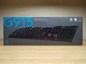 Logitech G915 TACTILE Wireless RGB Mechanical Gaming Keyboard 920-008902 NEW!