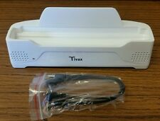 *New* Tivax Docking Station For HiRez7 Portable Television, Boosted Speakers