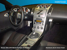 NISSAN 350 Z  FIT 2003 2004 2005 INTERIOR ALUMINUM KIT AUTOMATIC OR MANUAL TRANS