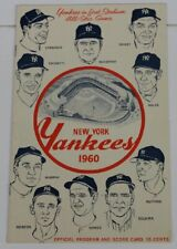 1960 Baltimore Orioles v NY Yankees 4/24 Mickey Mantle Triple Ex/MT 54162