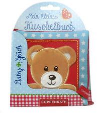BabyGlück Mein kleines Kuschelbuch Stoffbuch mit Knisterbilder