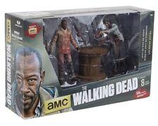 "THE WALKING DEAD 5"" Morgan & Impaled Walker Dexlue Action Figure Set (McFarlane)"