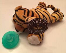 New Plush Toy Stuffed Animal Tiger Soothing Baby Pacifier FREE Shipping