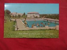 givat chaviva israel post card sent to a soldier in the army1986 swiming pool
