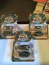 Military Series Die Cast And Plastic Vehicle Collection Of 6
