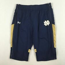 Under Armour Notre Dame Fighting Irish - Men's Shorts (Multiple Sizes) Used