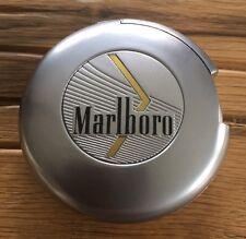 Marlboro Gold Rund Feuerzeug Gas Neu  Wiederbefüllbar Original Werbefeurzeug Rar