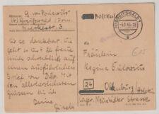NACH 45, Gebühr bezahlt / Barfreimachung, Greifswald, 5.1.46