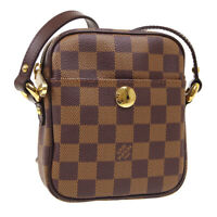 LOUIS VUITTON RIFT CROSS BODY SHOULDER BAG SR0016 PURSE DAMIER N60009 34951
