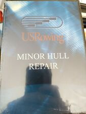 USRowing DVD: US Rowing Minor Hull Repair Sculling Boat Punctures Crushes Cracks