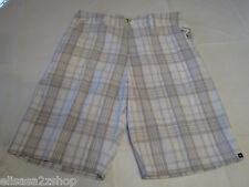 Quiksilver Skinney Bone Men's shorts walking casual 30 NEW WBB1 AQYWS00050 plaid