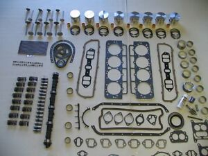 Deluxe Engine Rebuild Kit 1955 Oldsmobile 324 V8 NEW 55