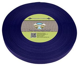 Country Brook Design® 1 Inch Royal Blue Polypro Webbing, 100 Yards
