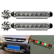 Wind Power 8 LED Car Daytime Running Light Fog Lamp Car DRL Driving Day Light