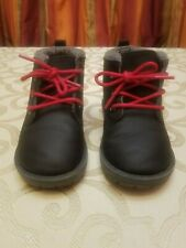 Child size 8 black shoes fashion boots