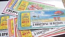Satz von 10 Lotterien