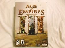 Age of Empires 3 III PC Brand New Sealed Fast Shipping
