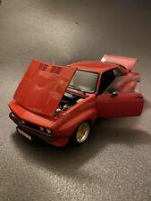 Opel Manta A GT/E Breitbau mit Alufelgen + Heckjalousie Tuning Umbau Code3 1:18