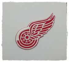 NHL Detroit Red Wings Team Sport Embroidered Iron Sew On Patch National Hockey