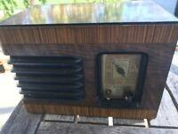 Antique DeWald Tube Radio Superheterodyne