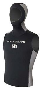 Body Glove Dive Ice Vest 0 1/8in Neoprene Shirt Hood Diving Wakeboard