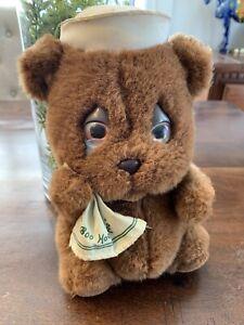"Vintage Mattel 1983 Emotions Boo Hoo Bear 9"" Plush Crying Sailor Teddy RARE!!"