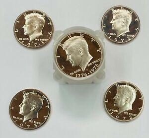 20 - 1973 S Kennedy Clad Half Dollars GEM Proof Roll of 20