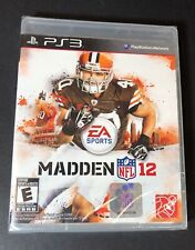 Madden NFL 12 (PS3) NEW