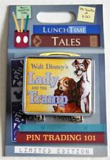 DISNEY WORLD LUNCH TIME TALES LADY & THE TRAMP LUNCH BOX HINGED PIN LE 1500