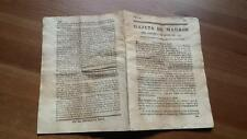 1793 Gazeta de Madrid Núm 47 Martes 11 Junio Lisboa Torino Amsterdam Varsovia