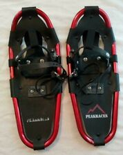Peakracers Snowshoes used with carrying case