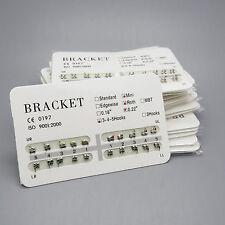 10 Packs Dental Orthodontic Metal Bracket Mini Roth 022 Slot 3 4 5 With Hooks