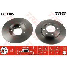 Bremsscheibe, 1 Stück TRW DF4185