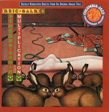 Eric Gale ‎– Ginseng Woman / Multiplication - 2 albums on 1 CD