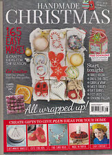 HANDMADE CHRISTMAS MAGAZINE UK 2014, 165 EASY MAKES & CRAFT IDEAS FOR THE SEASON