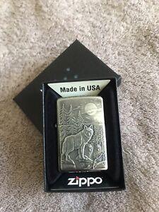 Zippo Lighter Timber Wolves