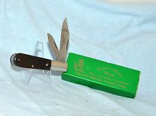 "OLD ORIGINAL COLONEL COON BONE BARLOW KNIFE ""TENNESSEE"" WITH CASE /BOX"